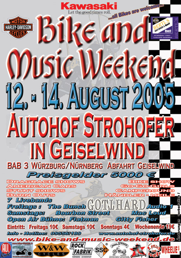 Bike and Music Weekend 2005 Geiselwind