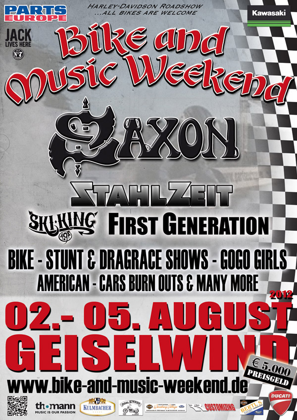 Bike and Music Weekend 2012 Geiselwind