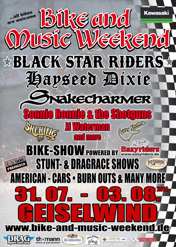 Bike and Music Weekend 2014 Geiselwind