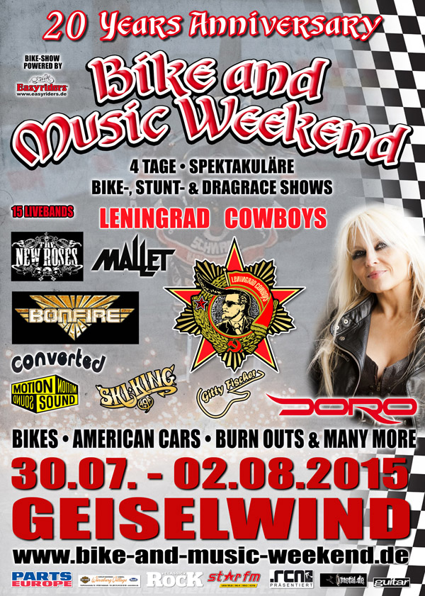 Bike and Music Weekend 2015 Geiselwind