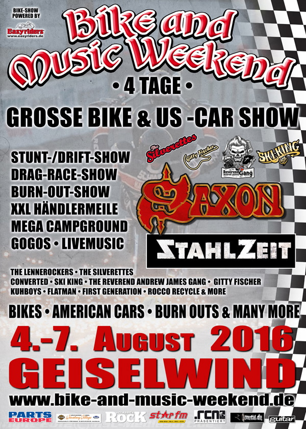 Bike and Music Weekend 2016 Geiselwind