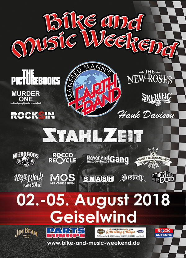 Bike and Music Weekend 2017